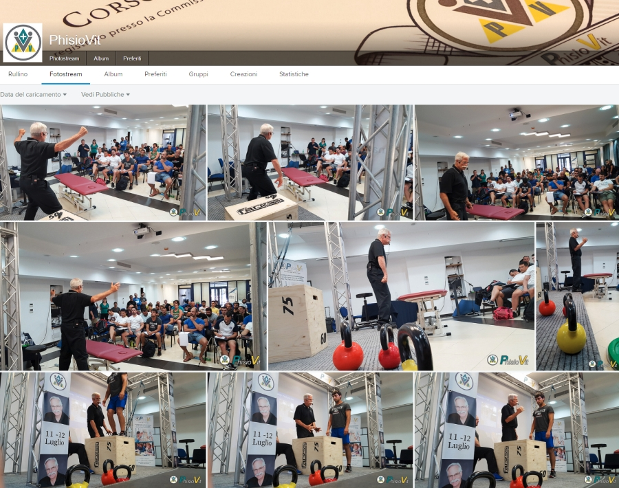 Photo Gallery degli eventi PhisioVit